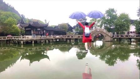 苏州游《灵岩山风景区》创意视频相册。