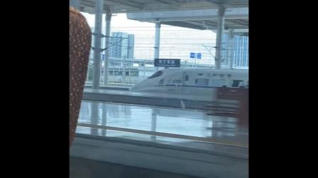 2021.4.17 乘坐CR400BF金凤凰-G1504次 南宁东站与CRH2反向发车