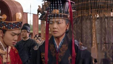大宋宫词:受益随刘娥前来祭拜,大臣们目送母子