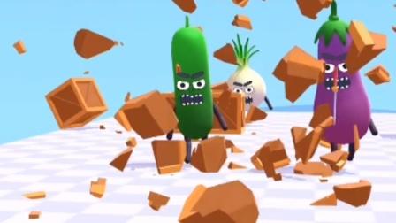 小游戏:蔬菜三兄弟没地方藏了