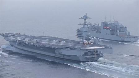 12万吨核航母终于来了,清一色5代机让俄羡慕,白宫:没人能超越