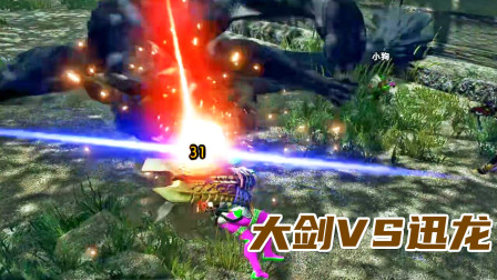 钝器流大剑!撞的迅龙嗷嗷叫、怪物猎人崛起