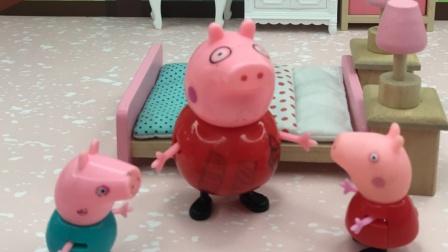 乔治上佩奇的当,在猪妈妈裙子上画了冰淇淋和雪糕!