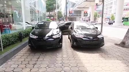 2020款丰田威驰高配版和低配版的差别有多大? 停一块比比看就懂了