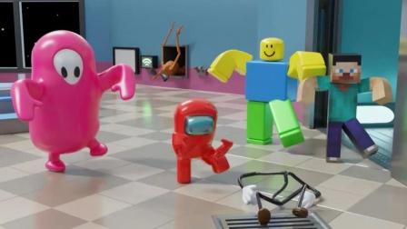 太空人小红这舞蹈节奏带动的挺嗨啊