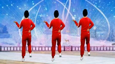 跳一曲喜庆广场舞 简单欢快 祝大家牛气冲天好运来