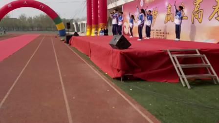 莱芜一中成人仪式,唐渊演讲,艺术部学生表演歌曲很艺术,100分