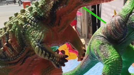 我的童年:小朋友们看我喜欢的恐龙
