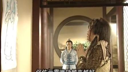 隋唐英雄传:李元霸每日坚持祭拜神仙叔叔,保佑他武功越来越好