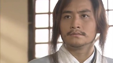 隋唐英雄传:伯当面对这个喜欢吃饭的皇帝,一副生无可恋的表情