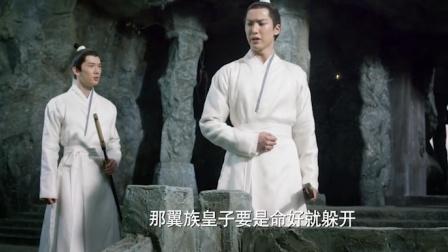 桃花:翼族皇子逃离昆仑虚追杀,去往封印山洞,没想山洞更凶险!