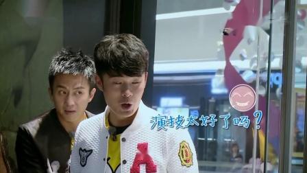 奔跑吧兄弟:李晨居然没有发现baby假装模型人,观察力太弱了
