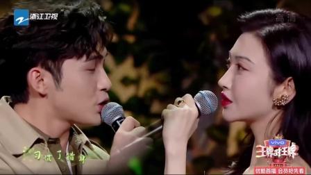 王牌6:景甜&张彬彬神仙对唱《下落不明》,唱的太动听了