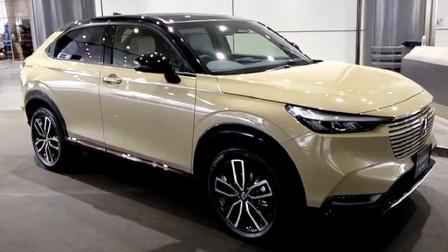 新车展示,实拍2022款本田缤智,12万起有这颜值和配置,太帅了