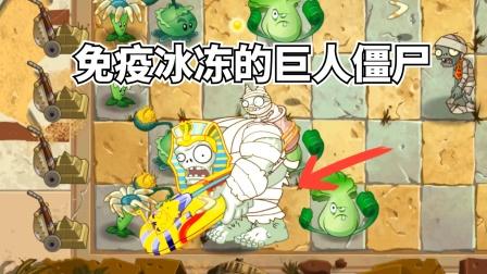 梦幻PVZ2-03:免疫冰冻的巨人僵尸