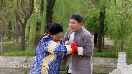 最新实景河南曲剧小品《李豁子说媒》,张荣彬、许大荣主演