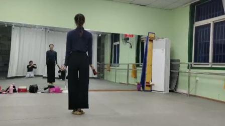 古典舞恨在今天遇见你视频背面分解动作六,阜阳艺路舞蹈提供
