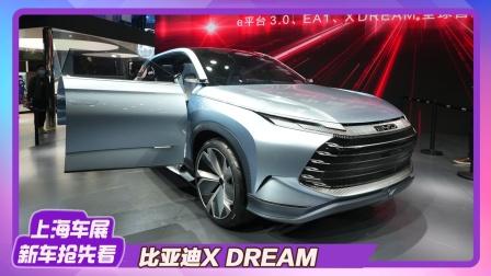 【2021上海车展】龙颜设计继任者?比亚迪X DREAM概念