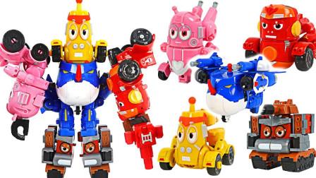 爆笑虫子机甲战队 组合超级机器人玩具
