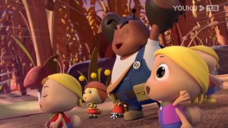 喜羊羊:丰收晚会正式开始,小虫子们彻夜狂欢!