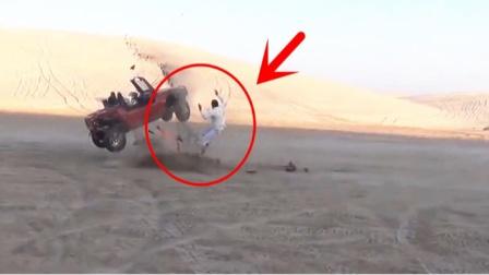 """阿拉伯""""死亡漂移"""",要不是视频拍下,根本不敢相信"""