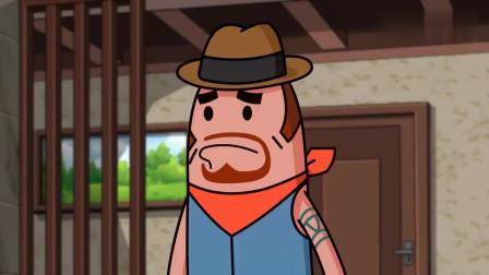 香肠派对:马可波刚玩游戏的时候,经常被达达坑,太惨了一男的