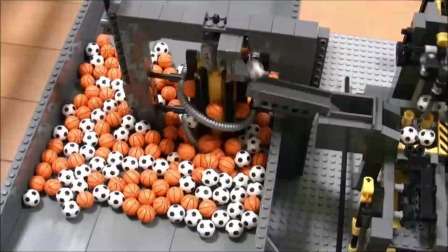 GBC流水线乐高机器人!
