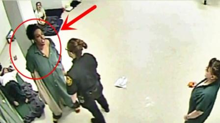 女囚犯VS女狱警,这跟村妇打架有啥区别?