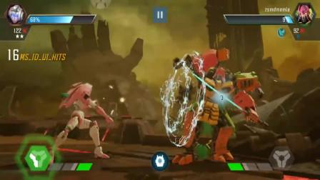变形金刚: 雷震和阿尔茜的决斗