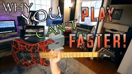 Why You Can't Play Faster and How To Fix It!