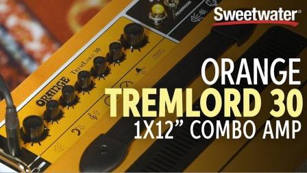 Orange TremLord 30 1x12 Combo Amp Demo