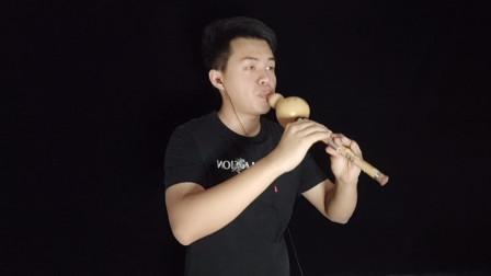 葫芦丝演奏《月光下的凤尾竹》娓娓动听的经典名曲百听不厌