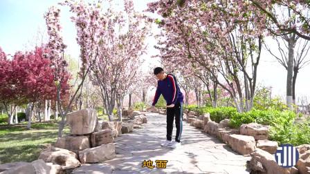 高抬腿—减肥的黄金动作,每天1次,减肚子减全身,比跑步还好
