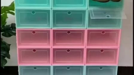 非常好用的透明鞋盒,拿取一目了然