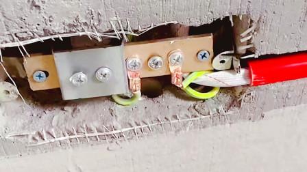 不管水电安装还是电路改造,等电位连接箱一定要装,漏电时能救命