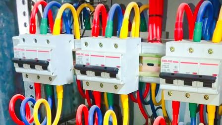 原来老电工查故障是有口诀的,短路,过载和漏电,看一眼就知道了