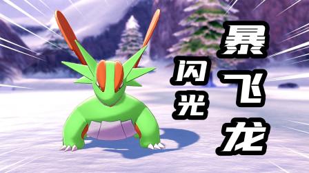 宝可梦剑盾:准神宝可梦中的王者,闪光形态暴飞龙