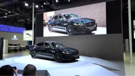 实力诠释新现代豪华主义 捷豹路虎携多款重磅车型亮相上海车展