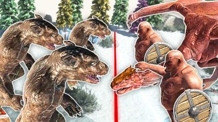 动物战斗模拟器 机械战斗河马兽把我串起来烧烤 成哔哔解说