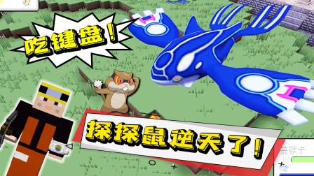 探探鼠实力大型打脸现场!盖欧卡的究极球被拒绝了!