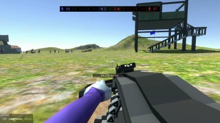 战地模拟器:超级AK扩容弹夹,最强火力出击