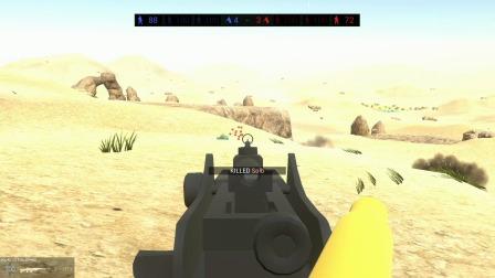 战地模拟器:二战武器系列,勃朗宁轻机枪试试威力怎么样