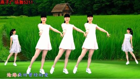 《万水千山总是爱》一支风花雪月浪漫广场舞,妙极了!