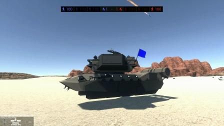 战地模拟器:见过磁悬浮列车,磁悬浮坦克第一次见到