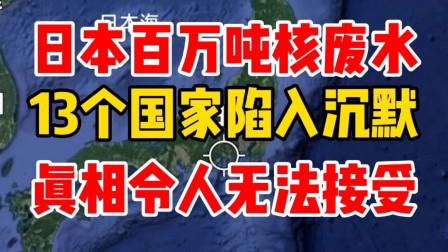 日本核废水,13个国家陷入沉默,真相令人无法接受