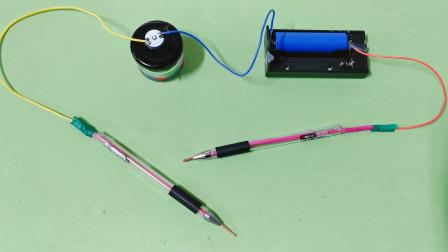 没有万用表怎么测量线路?老电工教你自制断线检测器,用着真方便