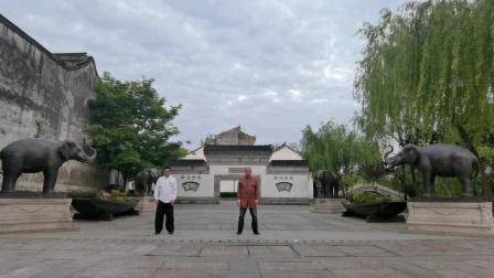 南浔古镇,吕炳松,范伟中,多场景演练杨赵传统太极拳