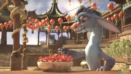 小火龙为学会喷火,猛吃朝天椒,患上鼻炎却意外制造出烟花!