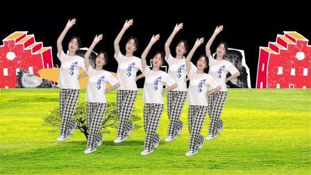 DJ广场舞《最亲的人》歌曲经典好听,舞步时尚动感,真好看