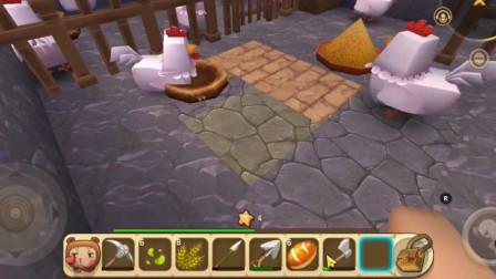 迷你世界:二狗子母鸡生出好多小鸡仔,这些小鸡仔都好可爱啊